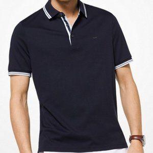 MICHAEL KORS MENS Greenwich Cotton Polo Shirt